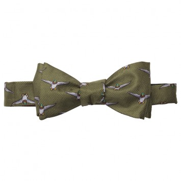 WM. Lamb & Son - Mallard In Flight Bow - Green